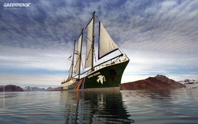 La conciencia de una sola tierra : Greenpeace