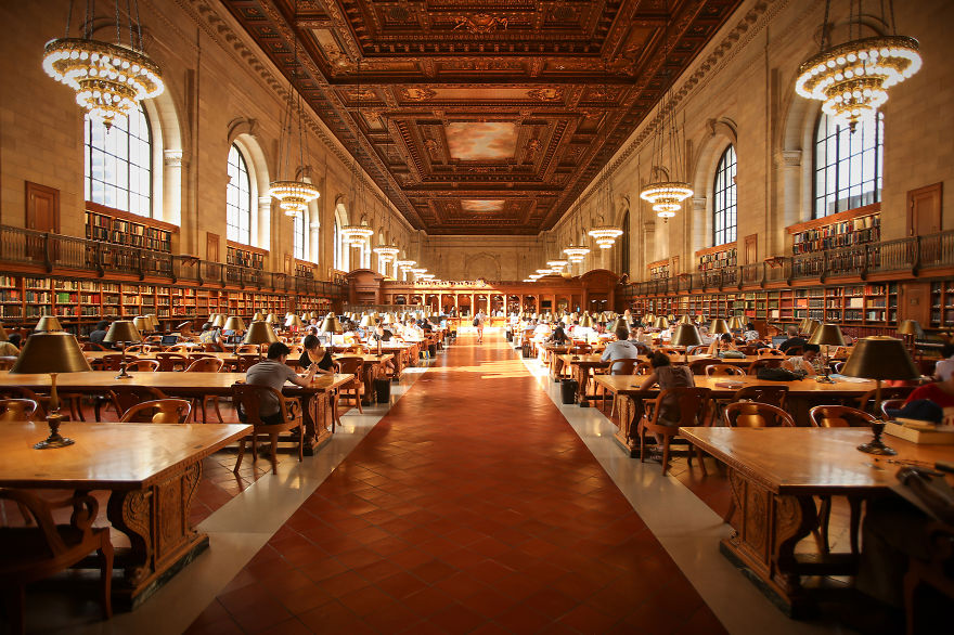 biblioteca impresionantes