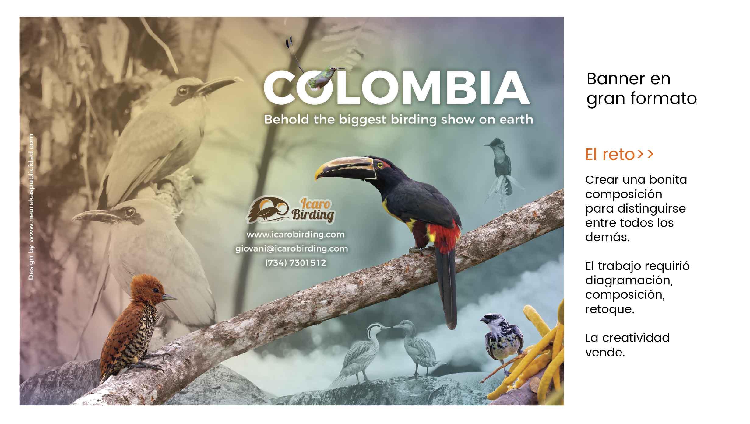 afiche publicidad turistica