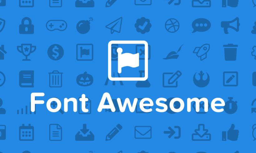 Insertar iconos Font Awesome en una web de wordpress
