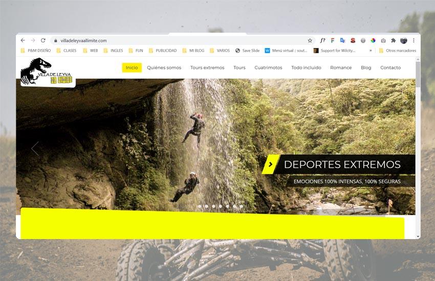 diseño sitios web boyaca